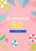 그래픽이미지, 편집디자인, 여름, 계절 (Setting), 이벤트페이지, 상업이벤트 (사건), 세일 (상업이벤트)