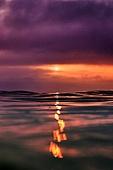 바다, 물 (자연현상), 백그라운드, 일출, 흐린날씨 (하늘), 구름