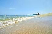 여름, 바다, 해변 (해안), 휴가 (주제), 물가 (물), 해안지역 (구역)