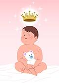 골드키즈 (컨셉), VIB, 아기 (나이), 육아, 신생아, 왕관