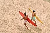 여행, 여름, 서핑, 서핑보드 (수중스포츠장비), 바다, 해변 (해안), 휴가 (주제), 여가 (주제)