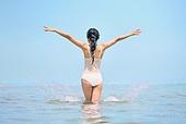 의료성형뷰티 (주제), 뷰티, 비키니, 수영복, 여름, 여행, 해변 (해안), 휴가 (주제), 휴식 (정지활동), 한국인