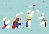 한국전통, 전통문화, 전통문화 (주제), 한복, 무형문화재, 춤, 춤 (물리적활동), 음악 (주제), 사물놀이, 버나, 남사당놀이