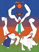한국전통, 전통문화, 전통문화 (주제), 한복, 무형문화재, 춤, 춤 (물리적활동), 음악 (주제), 승무, 한국북 (한국전통악기)