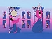 한국전통, 전통문화, 전통문화 (주제), 한복, 무형문화재, 춤, 춤 (물리적활동), 음악 (주제), 오고무, 한국북 (한국전통악기)
