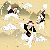 한국전통, 전통문화, 전통문화 (주제), 한복, 무형문화재, 춤, 춤 (물리적활동), 음악 (주제), 사물놀이, 상모, 한국북 (한국전통악기), 소고