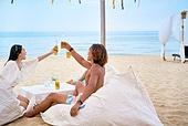 여름, 여행, 휴양, 해변 (해안), 휴가 (주제), 비치웨어 (옷), 맥주