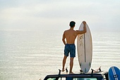여행, 서핑, 서핑보드 (수중스포츠장비), 여름, 바다, 해변, 휴가, 여가 (주제), 즐거움 (컨셉)