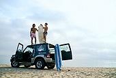 여행, 서핑, 서핑보드 (수중스포츠장비), 여름, 바다, 해변, 휴가, 여가 (주제), 즐거움 (컨셉), 함께함 (컨셉)