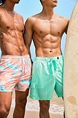 근육질 (사람체격), 남성, 복근