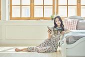 여성, 독서, 잡지