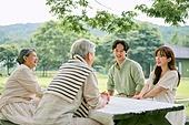 정원, 시골풍경 (교외전경), 자연, 휴식, 농부 (농촌직업), 여가 (주제), 귀농, 함께함 (컨셉)