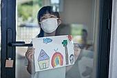 라이프스타일 (주제), 어린이 (나이), 희망 (컨셉), 소녀 (여성), 코로나19 (코로나바이러스), 포스트코로나