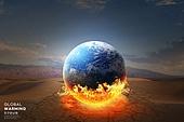 기후변화 (환경오염), 자연재해 (자연현상), 지구 (행성), 날씨, 환경이슈, 온난화, 사막화, 뜨거움, 불꽃 (인조물건)