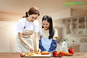 그린슈머, 쇼핑 (상업활동), 지속가능한생활, 소비, 제로웨이스트, 용기내 챌린지, 여성 (성별), 엄마, 딸, 요리하기