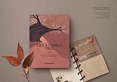가을, 책, 시집, 감성, 단순 (컨셉), 책표지