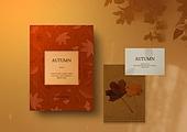 가을, 책, 시집, 감성, 단순 (컨셉), 책표지, 낙엽