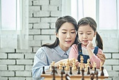 어린이 (나이), 체스, 가족, 딸, 창의성, 엄마