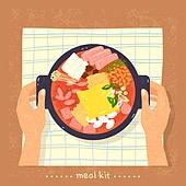 밀키트, 음식, 간편식, 간편식 (음식), 탑앵글 (카메라앵글), 찌개, 부대찌개