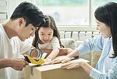 이사, 가족, 미소, 주택소유 (부동산)