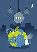 지구 (행성), 환경보호, 지구촌전등끄기 (환경보호), 전구 (전등빛), 스위치 (전기장비), 휴식