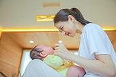아기 (나이), 남자아기, 여자아기, 토들러, 성장 (컨셉), 엄마, 사랑 (컨셉)