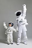 우주비행사 (운송직업), 우주정거장, 희망 (컨셉), 응원, 누끼 (누끼), 우주복, 파이팅 (흔들기)