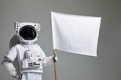 우주비행사 (운송직업), 우주복, 누끼 (누끼), 스튜디오촬영 (실내)