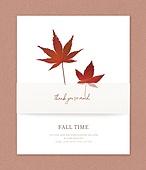 가을, 초대장, 프레임, 잎, 낙엽, 감성, 단풍잎