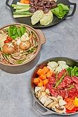 밀푀유샤브샤브 (샤브샤브), 샤브샤브, 음식, 밀키트, 요리 (음식상태), 음식재료, 찹스테이크, 순대볶음