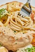 크림파스타, 파스타, 음식, 요리 (음식상태), 빠네파스타 (파스타)