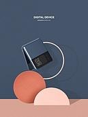 폴더블, 스마트폰, 상품진열 (소매업장비), 목업, 도형