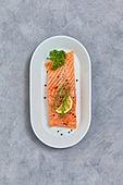 밀키트, 연어스테이크, 음식재료, 음식, 연어-해산물 (조리생선)