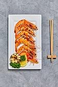 슈림프-연갑류 (연갑류), 새우구이, 음식, 음식재료, 해산물