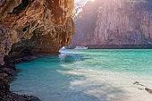 Sea beach atmosphere on Phi Phi Island