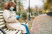 corona communication covid leisure woman phone