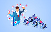 Isometric business learning and training