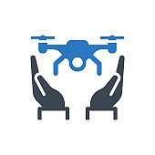 Quadcopter icon