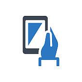 Mobile device icon