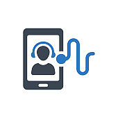 Virtual assistant icon