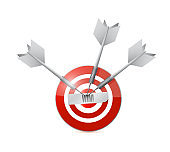 Win target illustration design