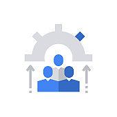 Employee People Icon Vector Illustration