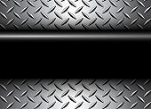Background 3D silver black metallic