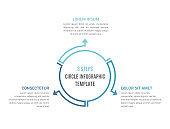 Circle Infographics - Three Elements