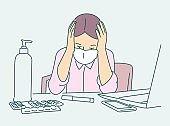 Healthcare, quarantine, protection, coronavirus infection concept.