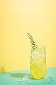 Summer tropical cocktail