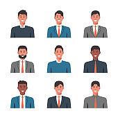 People portraits of businessman