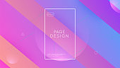 Fluid Banner. Neon Background. Creative Brochure. Minimal Element. Mobile Paper. Purple Bright Flyer. Flat Landing Page. Wavy Digital Shape. Magenta Fluid Banner
