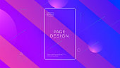 Abstract Banner. Neon Journal. Business Invitation. Wave Landing Page. Blue Graphic Poster. Dynamic Background. Mobile Paper. Tech Digital Flyer. Lilac Abstract Banner