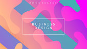 Digital Design. Abstract Shape. Flat Neon Background. Wave Landing Page. Dynamic Pattern. Pink Plastic Cover. Multicolor Wallpaper. Trendy Page. Lilac Digital Design